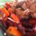 Salata de fasole cu fasii de carne de porc