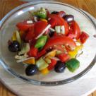 Salata italineasca cu paine