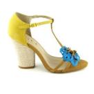11 modele de sandale cu toc comod