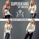 (P) SuperJeans of Sweden - o colectie limitata pentru femei