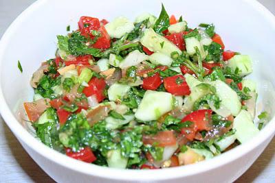Salata de verdeturi