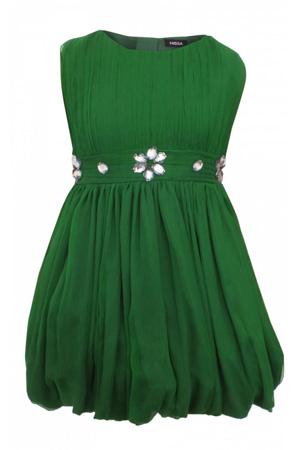 Rochie verde NISSA