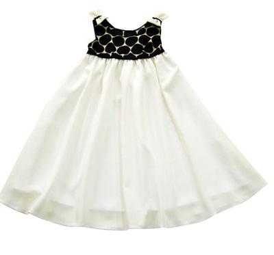 Rochita alb cu negru