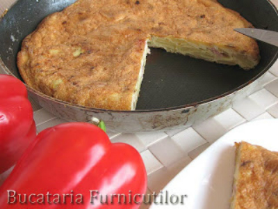 Tortilla cu Cartofi Noi