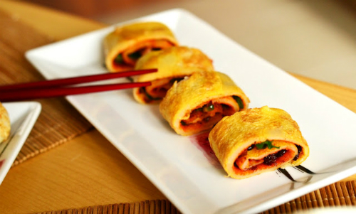 Clatite chinezesti pentru micul dejun