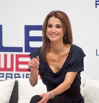 Regina Rania a Iordanului
