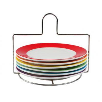 Set farfurii micul dejun Rainbow
