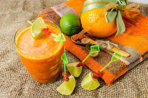 Suc de portocale cu goji