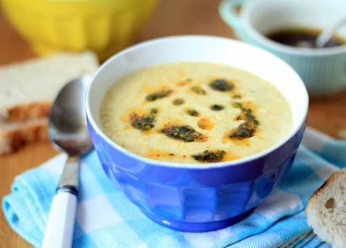 Supa de radacinoase coapte cu tarhon