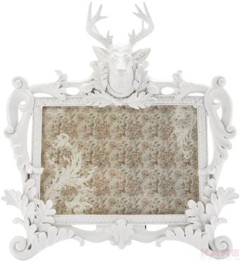 Frame Deer White 18x13cm