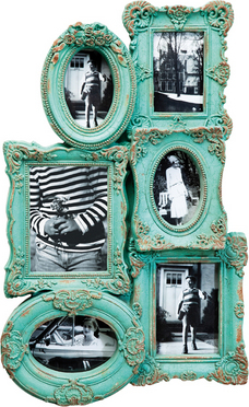 Frame Barock Chic Multiple 6 Turqouise