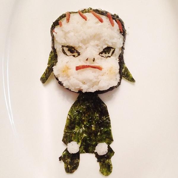 Sushi #YoshitomoNara