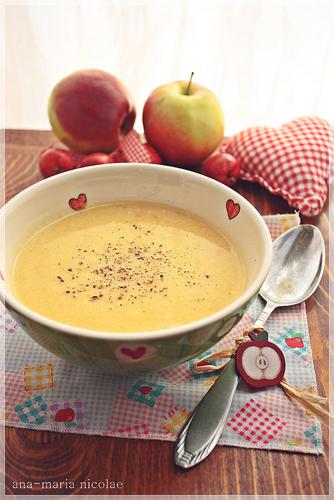Supa-crema de pastarnac si mar