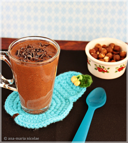 Budinca de ciocolata cu chia