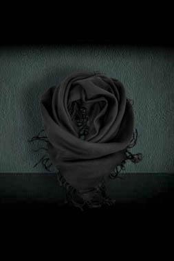 Esarfa neagra