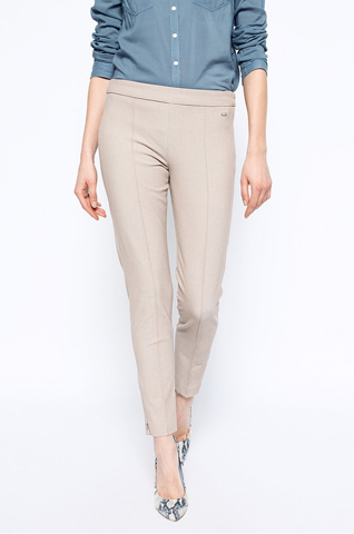 Pantaloni office cream