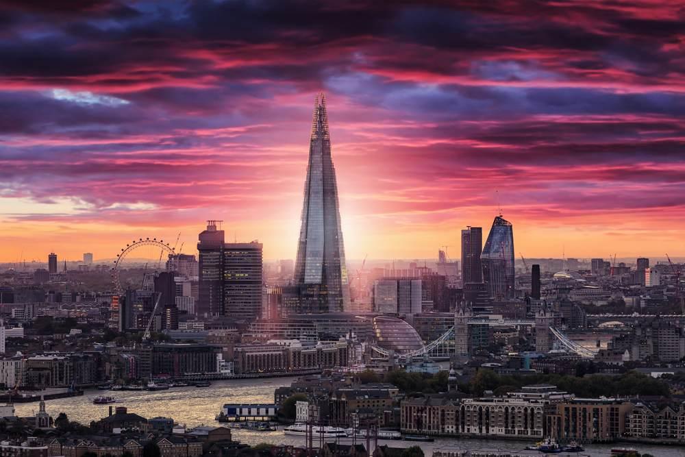 Apus in Londra