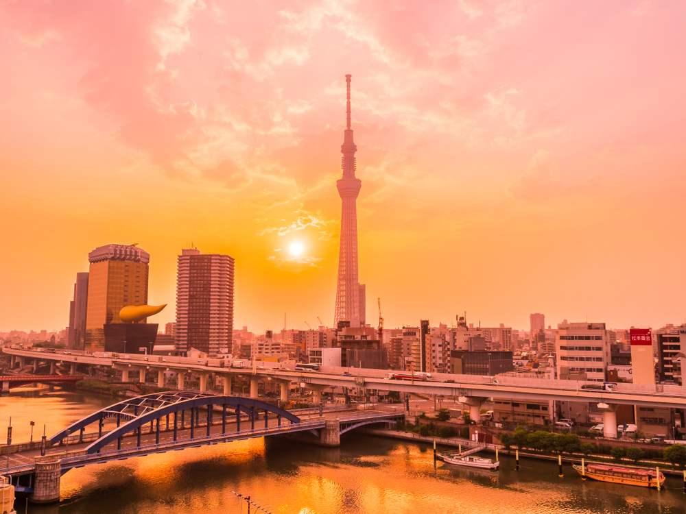 Rasarit in Tokyo