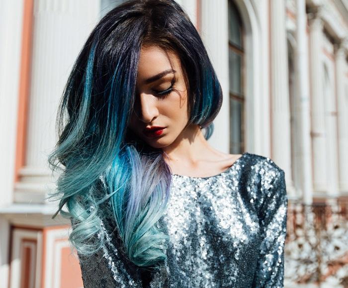 Albastru mermaid