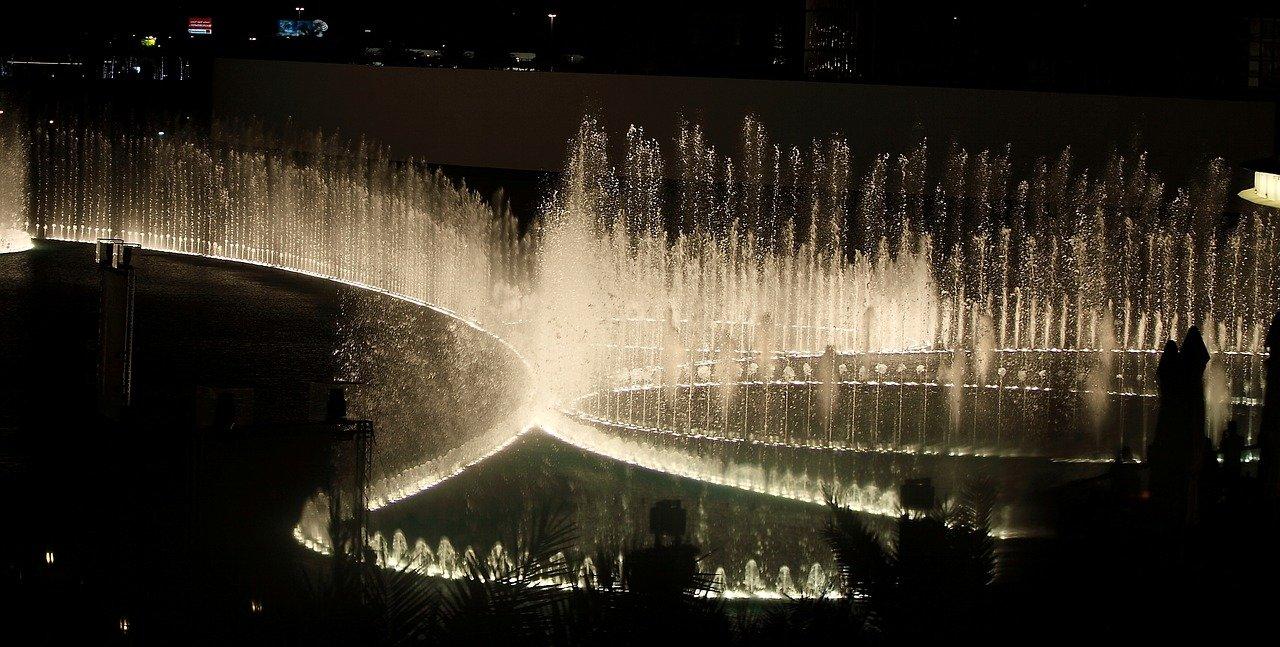 Fântâna din Dubai