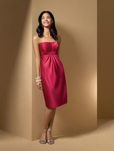 Rochie de seara rosie cu umerii goi