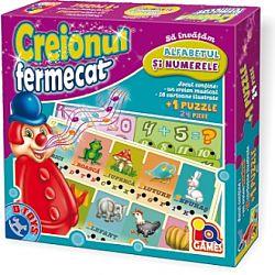Joc educativ Creionul fermecat - Alfabetul si numerele