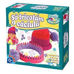 Joc educativ Sa tricotam o caciula