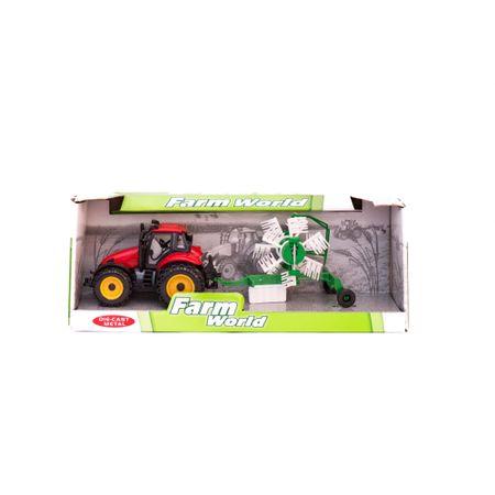Tractor de jucarie Farm cu Trailer