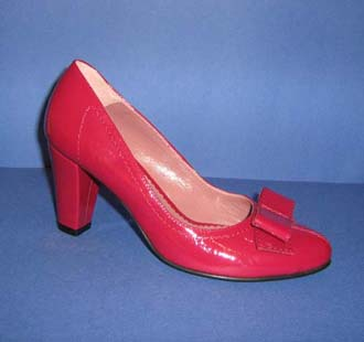 Pantofi eleganti, din piele lacuita