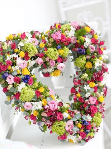 Ghirlanda din flori