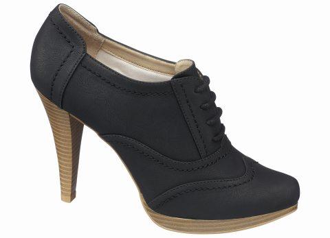 Pantofi-botine cu siret
