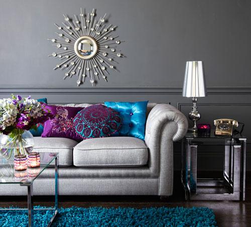 Canapea in stil baroc
