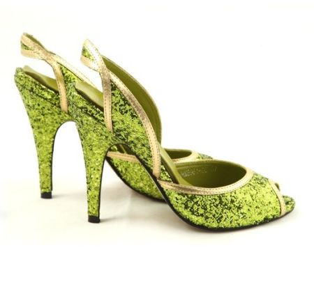 Pantofi verzi Galla