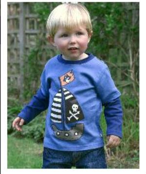 Bluza Nava piratilor