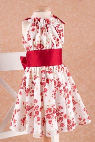 Rochita Petite Coco Red Flowers