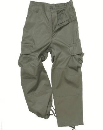 Pantaloni Copii BDU Oliv