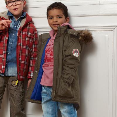 Jachetă parka cu glugă detaşabilă 3 SUISSES COLLECTION