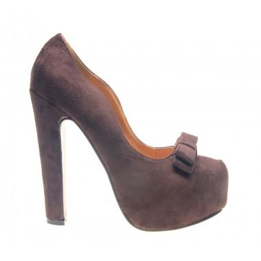 Pantofi dama maro Ego