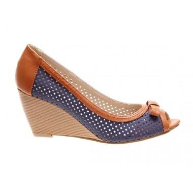 Pantofi de dama blue Sunshine