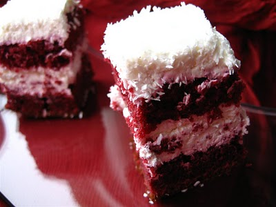 Red velvet cake-prajitura de catifea rosie