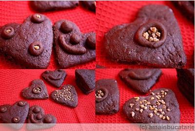 Inimioare de ciocolata