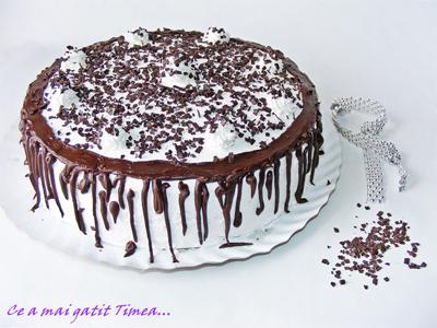 Tort de ciocolata cu frisca