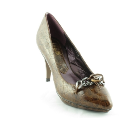 Pantofi cu aplicatii decorative