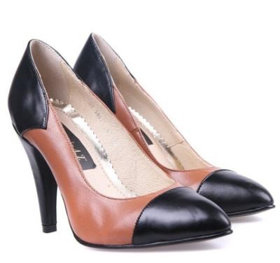 Pantofi in stil Chanel