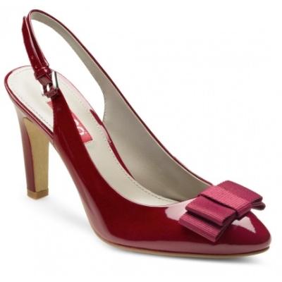Pantofi rosu burgund