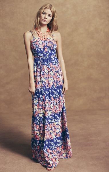 Rochie florala cu imprimeuri mini