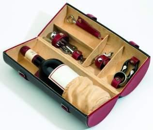 Cutie cu accesorii pentru vin Sauvignon