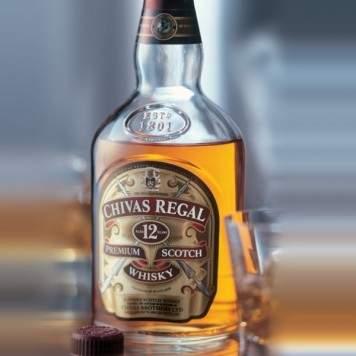 Chivas Regal 12YO - De Luxe Scotch Whisky - 0.7L