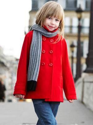 Paltonas rosu de lana