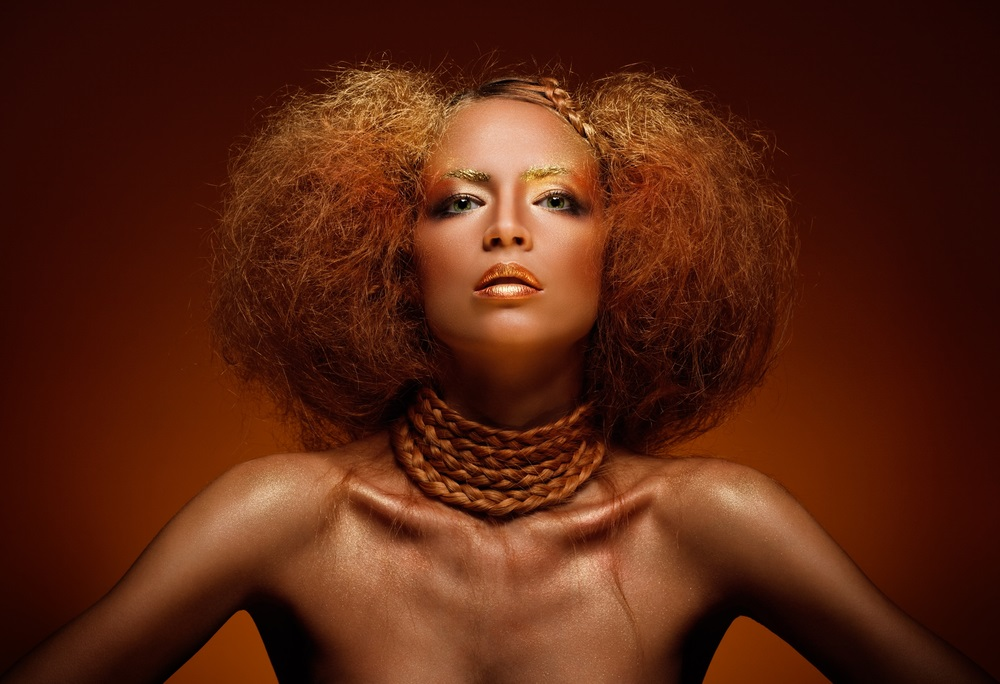 Hairstyling avangardist